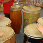 Drum Circle - Justin's 6 year old class